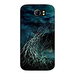 Horror Tree Back Case Cover for Micromax Canvas 2 A110