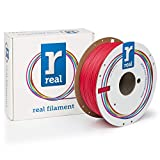 Véritable Filament 8719345000300 Real Flex, bobine de 1 kg, 1.75 mm, Rouge