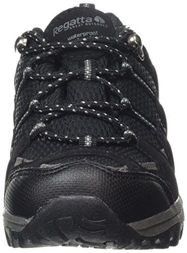 Regatta Garsdale Low Jnr, Chaussures de Randonnée Basses garçon Multicolore (Black/Granite)