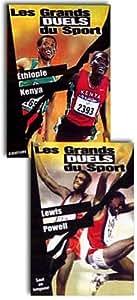 Les Grands duels du sport - Athlétisme : Ethiopie / Kenya + Lewis / Powell - Bipack 2 DVD