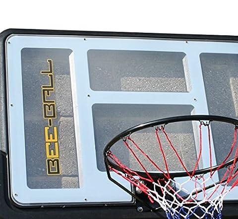 Panier Basket Exterieur - BEE-BALL ZY-020 Panier de basketball avec plaque