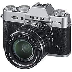 Fujifilm X-T30 Appareil Photo Numérique Argent + XF18-55mm