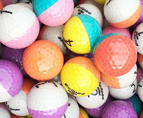 Nitro Crystal Bicolor Golfbälle AAAA - AAA Lakeballs Optic Bälle ()