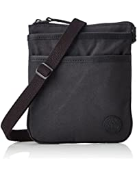 Timberland Mini Items Bag, Besaces mixte adulte, Schwarz (Black), 2x22x18 cm (B x H T)