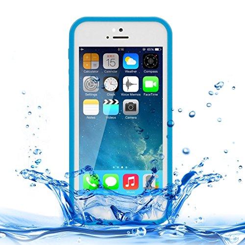 Wkae Case Cover Für iPhone 5 &5S &SE weicher TPU-Schutzhülle, Leben Wasserdicht ( SKU : IP5G2500W ) IP5G2500L