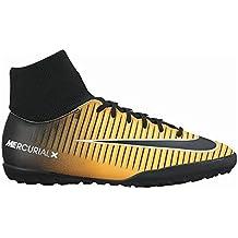 Nike Jr Mercurialx Victory 6DF TF–Scarpe da calcetto, Unisex bambini, Arancione–(Laser Orange/black-white-volt)