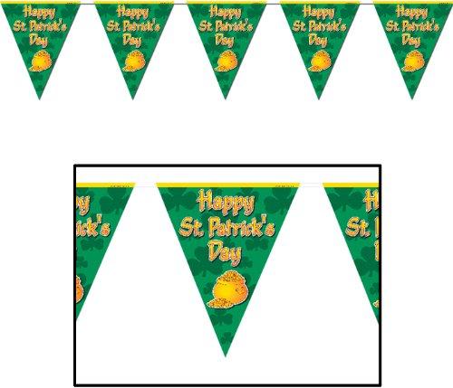 Happy St Patricks Day Pennant Banner