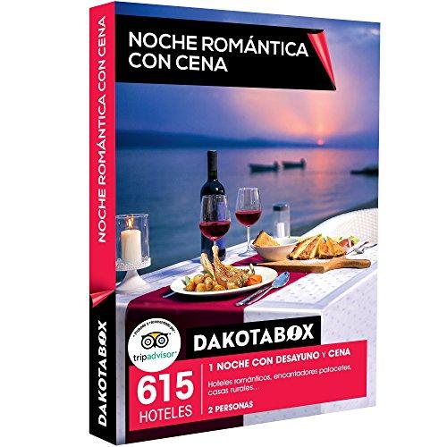 DAKOTABOX - Caja Regalo - NOCHE ROMÁNTICA CON CENA - 615 hoteles románticos, palacetes y casas rurales en España, Francia, Italia y Portugal