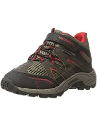 Merrell ml-b Hilltop Mid Quick-Clos, Chaussures de Randonnée Hautes Garçon