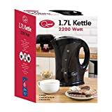 Quest Jug Kettle, 1.7 L, 2200 Watt, Black