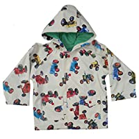 Powell Craft Big Boys Tractor Raincoat.Multicoloured