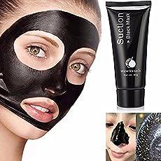 MY LITTLE BEAUTY Mitesser-Entferner, schwarze Maske, tiefe Reinigung, reinigendes Peeling, Mitesser-absorbierend, absorbiert hartnäckigen Schmutz