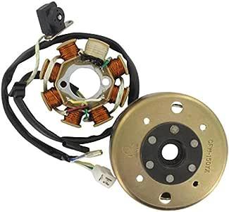 Xfight-Parts Lichtmaschine komplett mit Polrad (5 Kabel