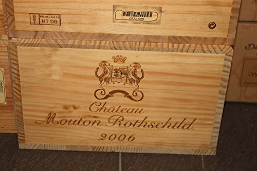 Bordeaux Pauillac Originalkiste zu 12 Flaschen - 2006 - Chateau Mouton Rothschild