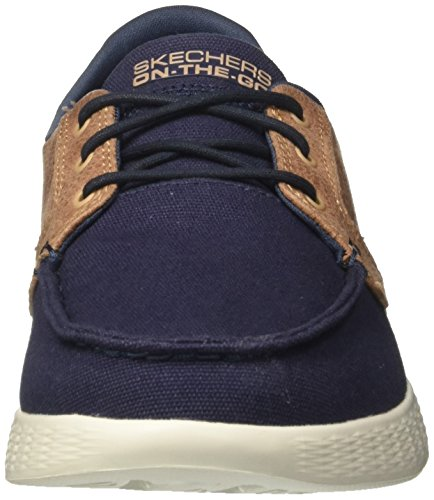 Skechers Herren On-The-Go Glide-High Seas Bootschuhe Blau (Navy)