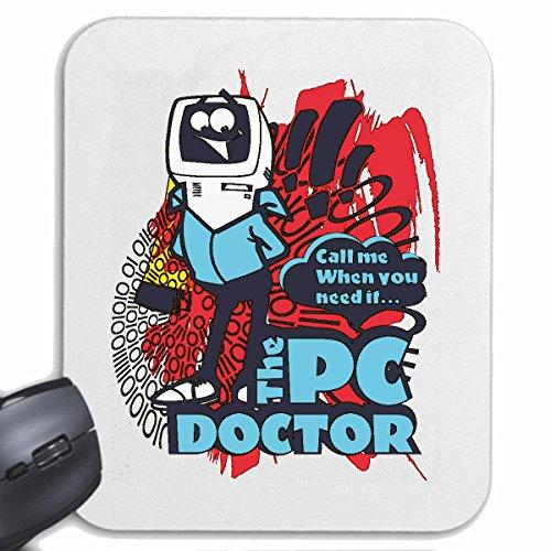 Reifen-Markt Mousepad (Mauspad) DER PC DOKTOR PC Reparatur Internet WLAN Router Festplatte Notebook Laptop Desktop Bildschirm Tastatur Maus für ihren Laptop, Notebook oder Internet PC (mit Windows Li