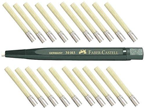 lapiz-faber-castell-giratorio-con-cristal-goma-de-borrar-fibra-de-vidrio-pincel-expertos-de-long-lif