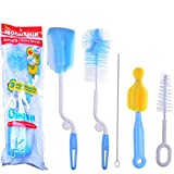 #5: Adriel - The Moonship Baby Brush and Nipple Combo Cleaner set, that can rotate 360 degrees, which gives your baby perfect hygiene and safety.