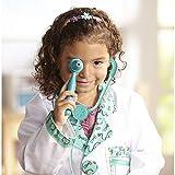 Melissa & Doug Doctor Role-Play Costume Set (Pretend Play, High-Quality Materials, Machine Washable, 44.45 cm H × 60.96 cm W × 1.905 cm L)