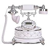Telefon retro Telefon Hause verdrahtet Telefon blauen Bildschirm 25 * 24 * 20cm