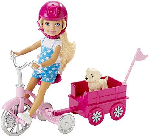 Mattel Barbie CLG02  - Das große Hundeabenteuer - Chelsea Dreirad mit -
