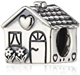 - 51yFt1DUHaL - Pandora Women's 925 Sterling Silver House Charm Bead