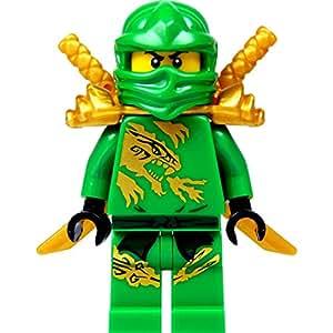 LEGO Ninjago: Minifigur Lloyd Garmadon (grüner Ninja) im