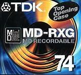 TDK MD-RXG Recordable Minidisc (74 Mins) by TDK