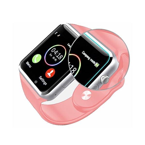 Reloj Inteligente, con Bluetooth y Ranura para Tarjeta SIM para Usar Como Teléfono Móvil. Reloj Deportivo con Rastreador… 5