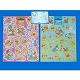 PARTY DISCOUNT KPO88341-2X NEU 2 Sticker Winnie Pooh