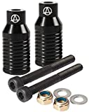 Apex Bowie Stunt Scooter, Freestyle Grind, Slide Pegs, 2Pieces, Black