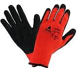 Arbeitshandschuhe Thermo Winter-Handschuhe NEOGRIP für Montage. Handschuh aus Baumwolle/Polyest, Schutz gegen mechanische Gefahren, Kühlhaus, Kälteschutz - Größe: 7