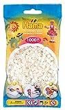 Hama 207-64 - Bügelperlen im Beutel, ca. 1000 Stück, perlmutt