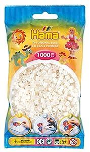 Hama Dan Import 207-64 - Cuentas para planchar, color madre perla