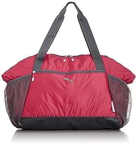 Puma Damen Sporttasche Fit AT, Virtual Pink/Turbulence/Omphalodes, 42 x 41 x 17 cm, 40 Liter, 073023 02