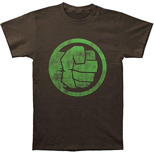 Marvel Incredible Hulk Fist Bump Adult T-shirt
