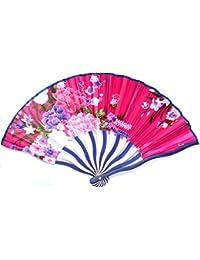 E0495. Sublime éventail à main accessoire de mode d'été- décoration de maison