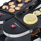 Ultratec RG1200 Raclette (1200 Watt, Duo 4 Gelenkgrill, Raclette-Grill für bis zu 8 Personen) - 4