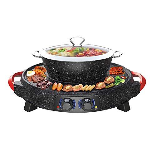 G-BBQ Hot Pot Parrilla De Barbacoa Y Olla Caliente