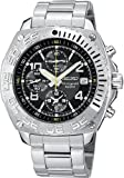 Seiko Chronograph Black Dial Men's Watch - SNA617P1