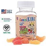 Gummi King Calcium Plus Vitamin D Formula For Bone, Health & Development, Calcium For Kids-30 Gummies