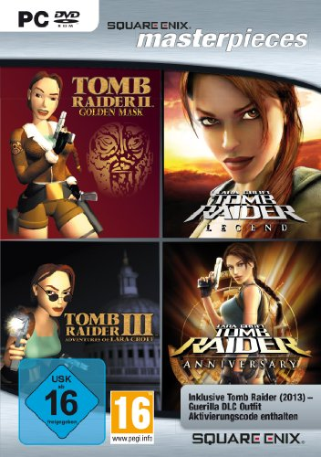 Square Enix Masterpieces: Tomb Raider Quadrology