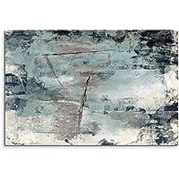 150x50cm Abstract Grunge Paper Vintage Panorama Wandbild Leinwand Keilrahmen