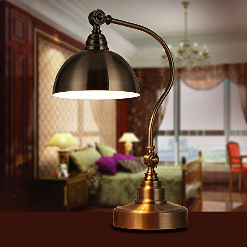 BBSLT Led retrò decorativi in bronzo comodino lampada, dimming lampada occhio altezza: 54cm* larghezza: 36cm