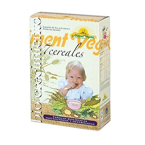 Papilla 7 Cereales Con Miel Bio 6 Meses 400 Gr Biocrecimiento