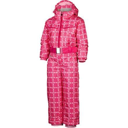 Spyder Kids 'Bitsy Sassy Anzug, Kinder, Sweet Pink Bitsy Print