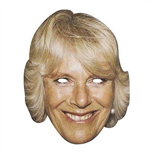 (Berühmte Maske - Celebrity Face Mask - Camilla-Parker Bowles)