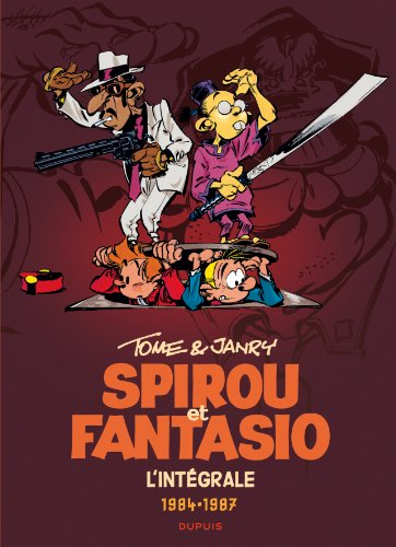 Spirou et Fantasio - L'intégrale - tome 14 - Spirou et Fantasio 14 (intégrale) Tome & Janry 1984-1987