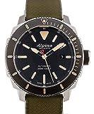 Alpina Seastrong Diver 300 Herren-Armbanduhr 44mm Grün Automatik AL-525LGG4V6