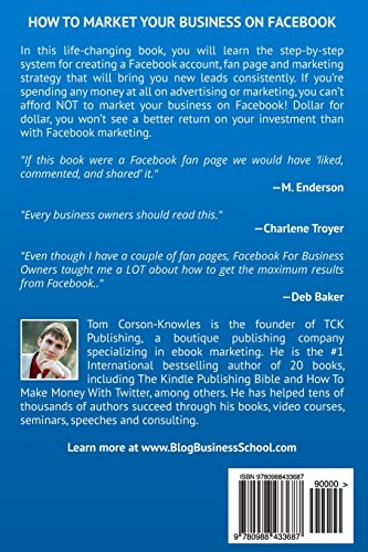 Facebook for Business Owners: Facebook Marketing For Fan Page Owners and Small Businesses: Volume 2 (Social Media Marketing)